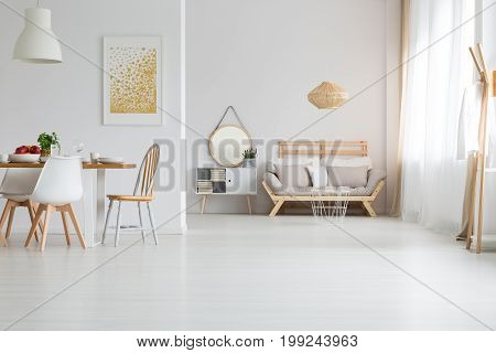 Interior With Living Room