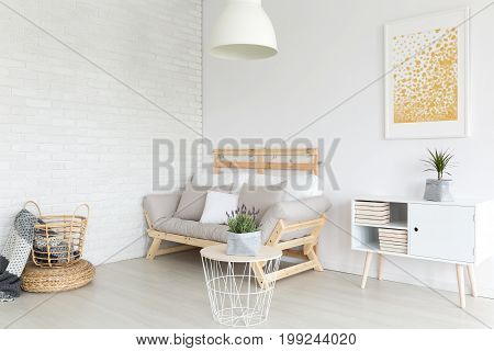 Living Room In Apartment