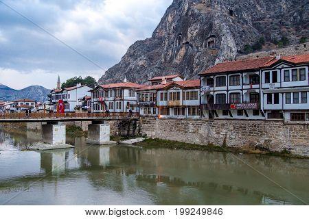 Ottoman Houses In Amasya