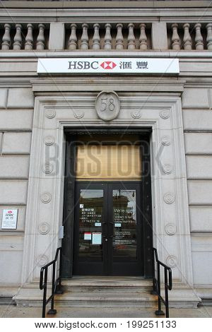 Hsbc Bank, Chinatown