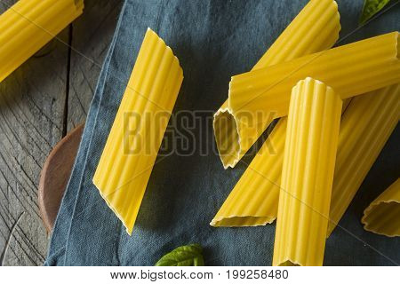 Dry Organic Manicotti Pasta Tube