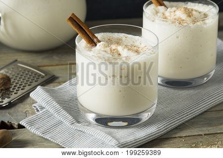 Homemade Frozen Bourbon Milk Punch
