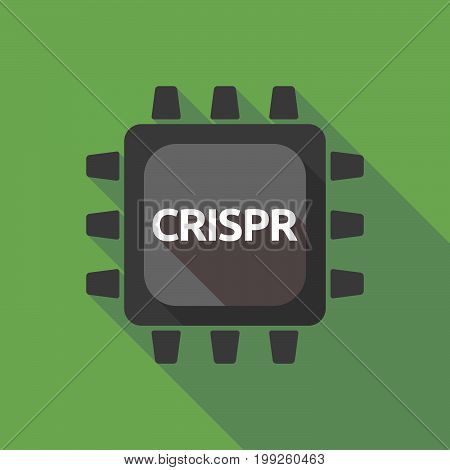 Long Shadow Cpu With  The Clustered Regularly Interspaced Short Palindromic Repeats Acromym Crispr