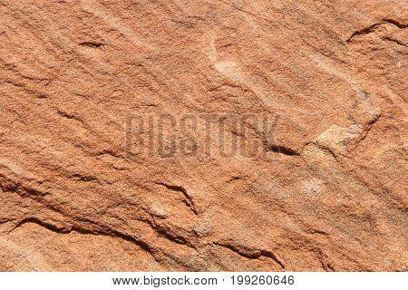 Sandstone Weathered Rock Nature Pattern background filling the frame