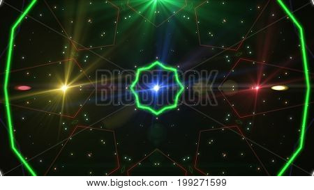 Full Spectrum Of Laser Beams In All Colors