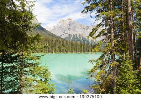 emerald lake yoho national park, british columbia, canada