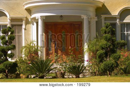 eleganten Eingang