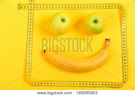 Framed Fruit Face
