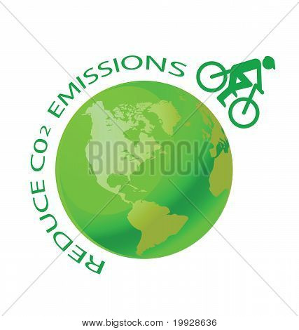 Reduce CO2 bike