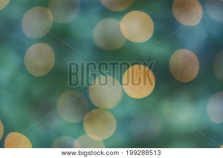 Beautiful Bokeh in Detail as Background. Concept