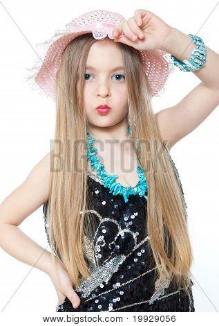 portrait of cute little girls