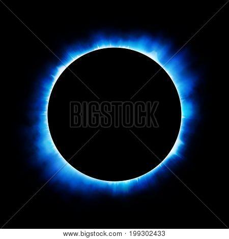 Solar eclipse background