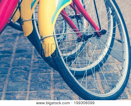 Public bike sharing system,tianjin,china.