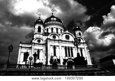The Cathedral of Christ the Saviour was built in gratitude for the intercession of the Almighty in the critical period of Russian history as a monument to the courage of the Russian people in the struggle against the Napoleonic invasion of 1812.