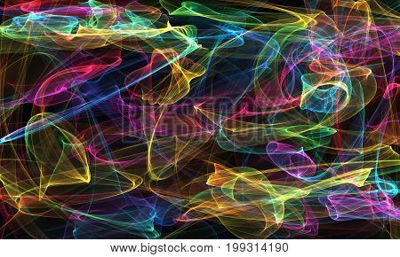 Abstract ardent background , Abstract glowing futuristic background with lighting effect , Abstract fiery background