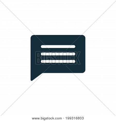 Chat, Speech, Comment, Chatting Icon On White Background