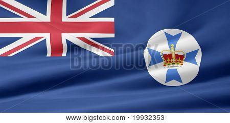 Flag of Queensland - Australia