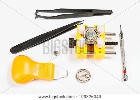 Kit For Replacing Battery In Watch