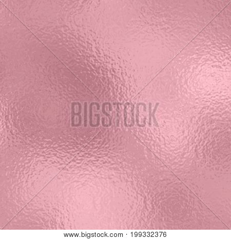 Vector rose gold background. Rose Gold metallic texture. Trendy template for holiday designs party birthday wedding invitation web banner card.