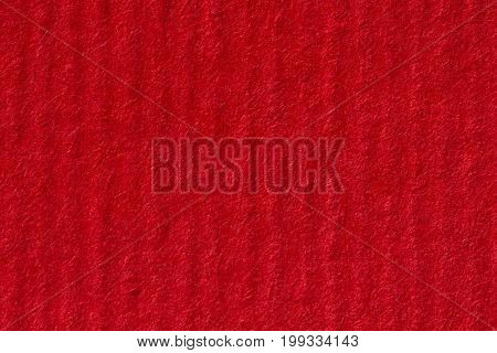 Blank textured red paper background. High resolution photo.