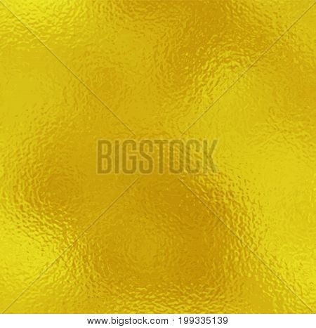 Vector gold background. Gold metallic texture. Trendy template for holiday designs party birthday wedding invitation web banner card.