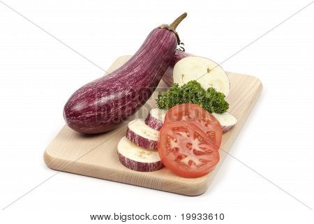 aubergine on board