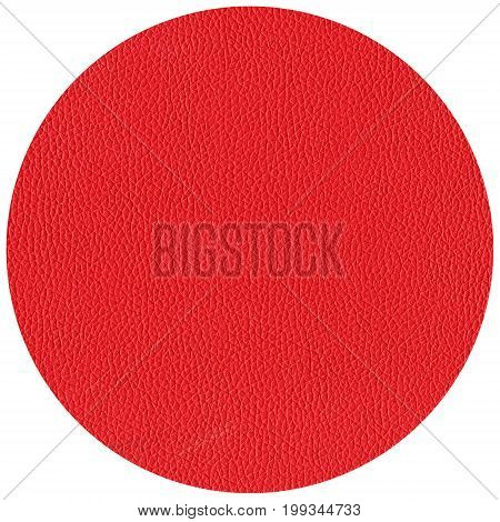 Beermat Drink Coaster Isolated Over White