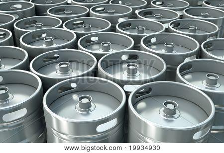 Bier Fässer