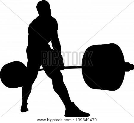 competition powerlifting man athlete powerlifter exercise deadlift