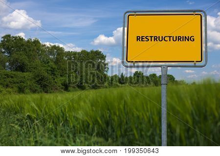 Restructuring - Image With Words Associated With The Topic Insolvency, Word, Image, Illustration