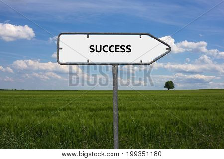 Success - Image With Words Associated With The Topic Meritocracy, Word, Image, Illustration