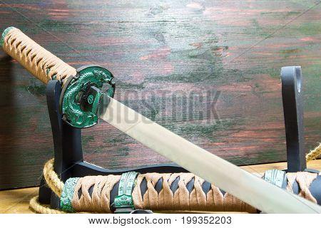 Katana samurai sword. Katana samurai sword. Katana samurai sword