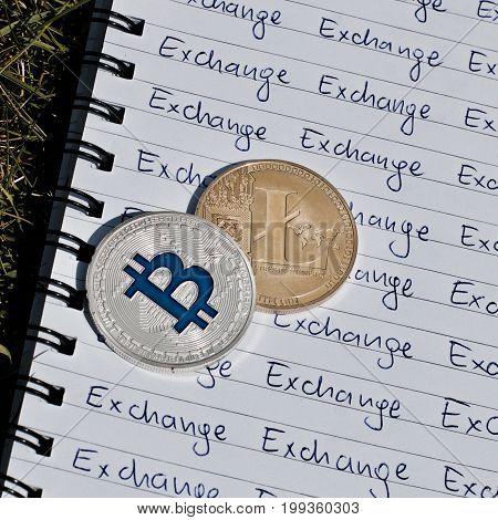 Litecoin Exchange Concept
