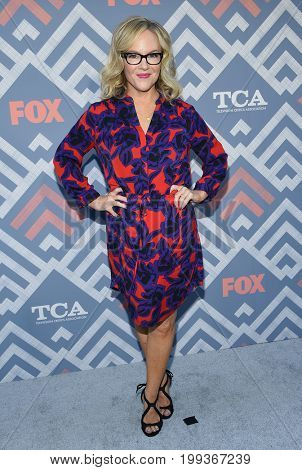 LOS ANGELES - AUG 08:  Rachael Harris arrives for the FOX TCA Summer Press Tour 2017 on August 8, 2017 in West Hollywood, CA