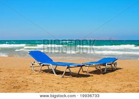 Beach In Greek, The Crete