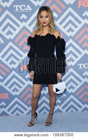 LOS ANGELES - AUG 08:  Jamie Chung arrives for the FOX TCA Summer Press Tour 2017 on August 8, 2017 in West Hollywood, CA