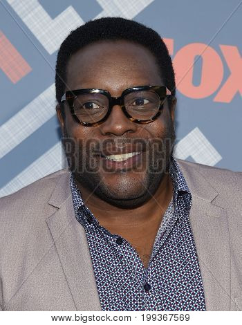 LOS ANGELES - AUG 08:  Chad L. Coleman arrives for the FOX TCA Summer Press Tour 2017 on August 8, 2017 in West Hollywood, CA