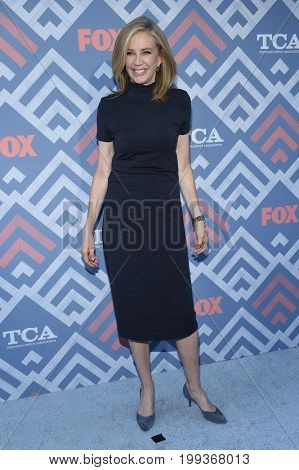 LOS ANGELES - AUG 08:  Ally Walker arrives for the FOX TCA Summer Press Tour 2017 on August 8, 2017 in West Hollywood, CA