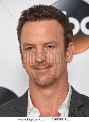LOS ANGELES - AUG 06:  Josh Randall arrives for the ABC TCA Summer Press Tour 2017 on August 6, 2017 in Beverly Hills, CA