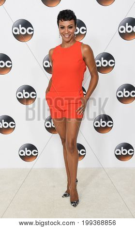 LOS ANGELES - AUG 06:  Carly Hughes arrives for the ABC TCA Summer Press Tour 2017 on August 6, 2017 in Beverly Hills, CA