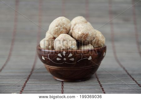 Indian Hand Made Traditional Sweet  Peanuts Balls