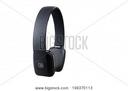Indian Made Headphones with Mic Isolated on White