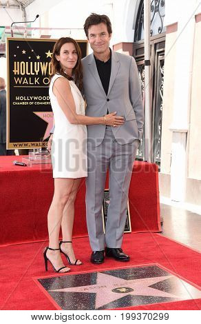 LOS ANGELES - JUL 26:  Jason Bateman and Amanda Anka Walk of Fame honors Jason Bateman on July 26, 2017 in Hollywood, CA