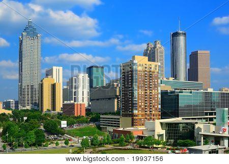 Downtown Atlanta, Skyline