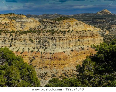 The ravines of Moab deep in the state of Utah