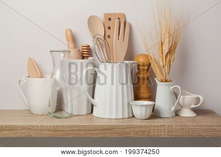 Kitchen Utensils And Dishware