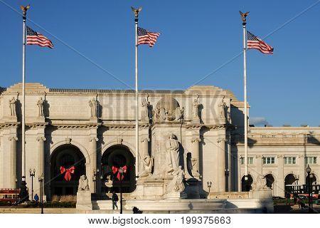 Union Station in Washington DC - United States