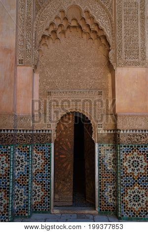 Ali Ben Youssef Madrasa, Marrakesh, Morocco
