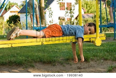 Boy On The Seesaw