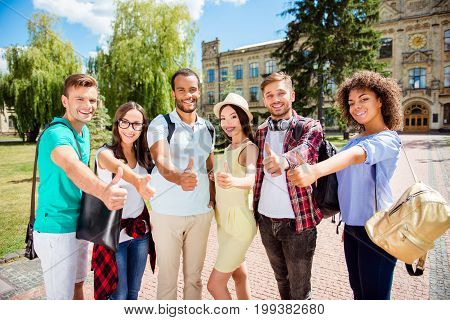 We Like Education! Successful Future For Smart Youth! Six Attractive Young Bachelors Are Welcoming I